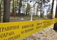 Plūdu un lietavu dēļ šogad nedaudz aizkavējuši arī žoga izbūves darbi uz robežas ar Krieviju