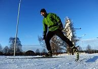 Atpūtas parkos Madonas novadā sākusies slēpošanas sezona, bet citviet Vidzemē gaida labvēlīgāku laiku