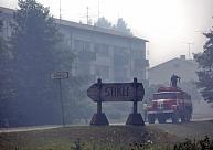 Valdgales ugunsgrēka dūmu izplatības apgabalā dzīvojošos aicina sekot savam veselības stāvoklim
