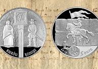Latvijas Banka izlaidīs kuršu ķoniņiem veltītu sudraba kolekcijas monētu