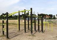 Jelgavā atklāts paplašinātais vingrošanas laukums