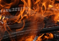 Vecumnieku novadā dzēsts paaugstinātas bīstamības ugunsgrēks