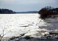 Ūdens līmenis upēs nedaudz svārstās