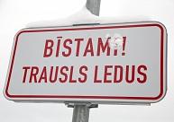 Paplašina aizliegumus iedzīvotājiem atrasties uz atsevišķu Rīgā esošu ūdenstilpju ledus