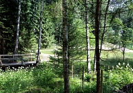 Par 97 154 eiro rekonstruēta Vīna kalna koka taka Rundāles novadā