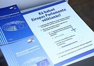 Elektroniskās deklarēšanās sistēmas lietotājiem izsūtīs informāciju par Eiroparlamenta vēlēšanu iecirkņiem