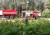 Iedzīvotāju evakuācija Kandavas pusē meža ugunsgrēka dēļ pašlaik neesot nepieciešama