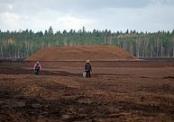 Jelgavas novadā apspriež ieceri būvēt vēja elektrostaciju parku noraktā kūdras purvā