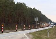 Vidzemes šosejas remontdarbu posmā satiksmi sāks pārslēgt uz Siguldas virziena brauktuvi