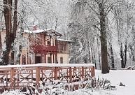 Lielbornes muiža – vienīgais muižas komplekss, kas saglabājies dabas parkā