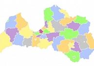 Jaunās administratīvo teritoriju robežas pieejamas atvērto datu formātā