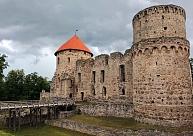 Cēsu pilsdrupas – iespaidīgākais un vislabāk saglabājies drupu ansamblis Latvijā