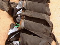 Irākā drošības spēki šiītu mošejas tuvumā aizturējuši kādu 11 gadus vecu zēnu, kurš bija bruņojies ar spridzekļu jostu.