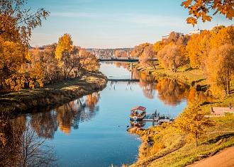 Rudens krāsas ienāk Valmierā