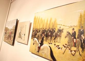 Valmieras muzejā atklāj Tatjanas Paļčukas-Rikānes gleznu izstādi