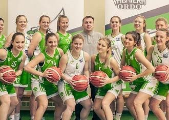 """""""Valmiera/ORDO"""" basketbola sistēmā no šīs sezonas iekļauta arī sieviešu komanda"""