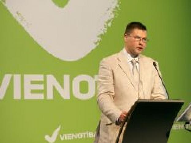 Valdis Dombrovskis, Foto: LETA