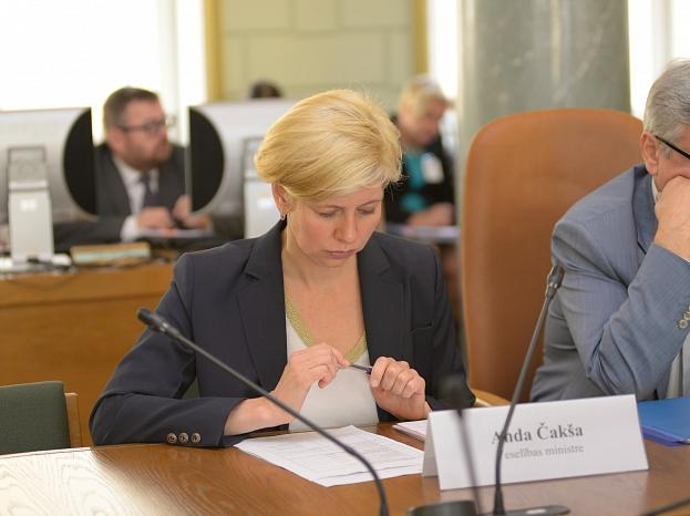 Anda Čakša/ Foto: Valsts kanceleja