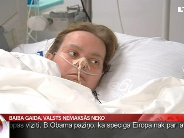 Foto no LTV Ziņu dienesta sagatavotā sižeta