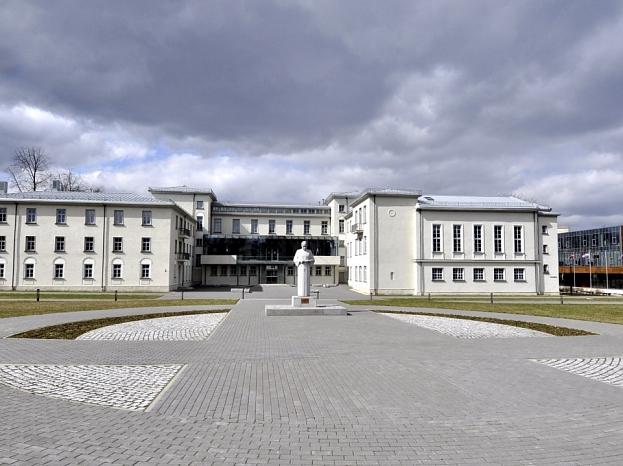 Rēzeknes valsts skolotāju institūta vēsturiskais korpuss.