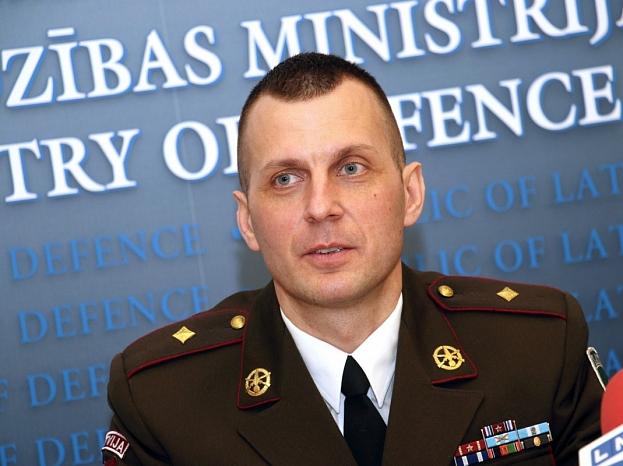 Jaunsardzes un informācijas centra direktors majors Aivis Mirbahs.