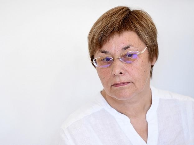 Latvijas Ģimenes ārstu asociācijas vadītāja Sarmīte Veide.