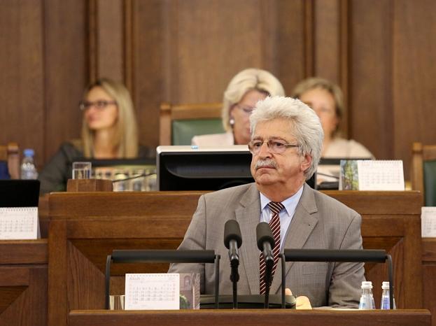Saeimas deputāts Arvīds Platpers.