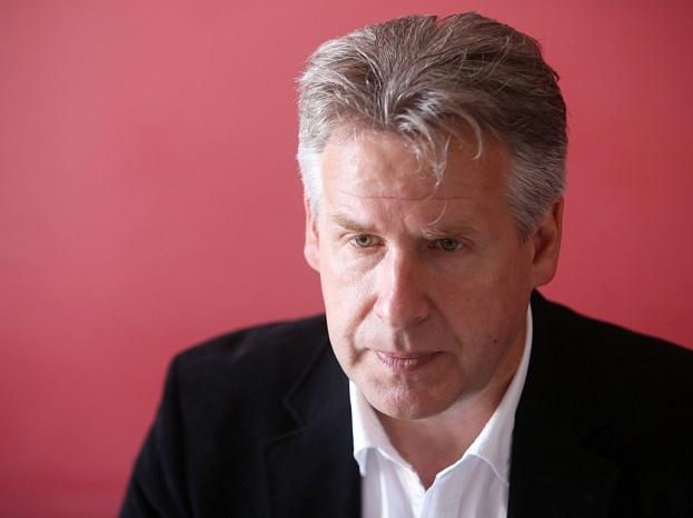 """AS """"Tukuma straume"""" valdes priekšsēdētājs Aivars Podnieks."""