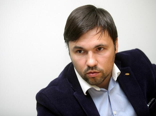 """""""Rīgas namu pārvaldnieks"""" valdes priekšsēdētājs Aivars Gontarevs."""