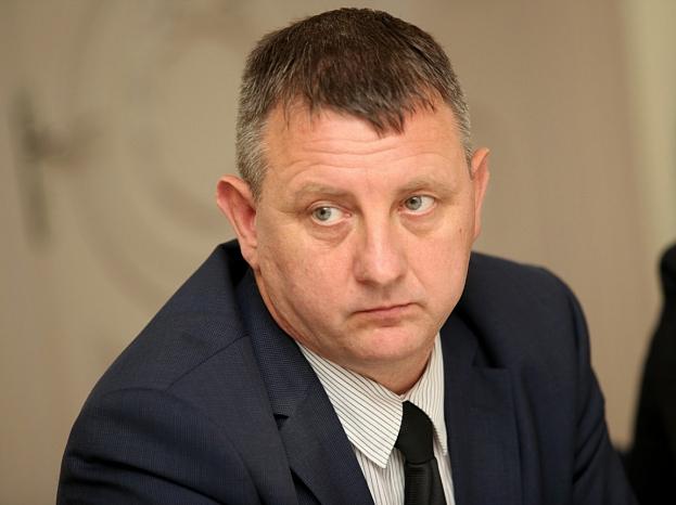 Saldus novada domes priekšsēdētājs Reinis Doniņš