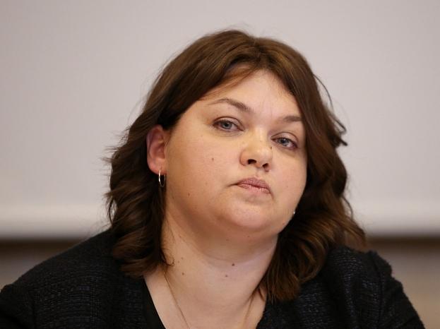 """Bijusī biedrības """"Baltijas asociācija - transports un loģistika"""" (BATL) prezidente Inga Antāne"""