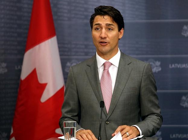 Kanādas premjerministrs Džastins Trudo.