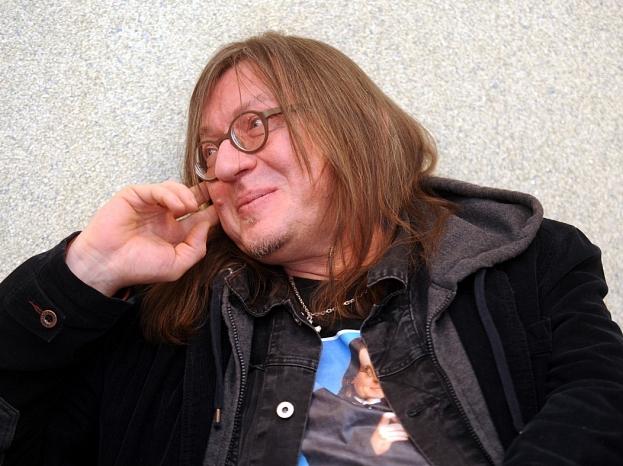 Grupas ''Menuets'' dalībnieks Juris Kulakovs.