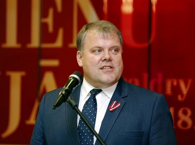 Latvijas Pašvaldību savienības priekšsēdis Gints Kaminskis.