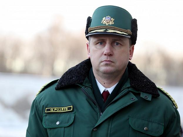 Valsts robežsardzes priekšnieks ģenerālis Guntis Pujāts.