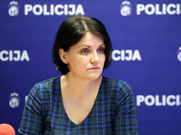 Valsts policijas Dzimumnoziegumu apkarošanas nodaļas psiholoģe Dace Landmane.