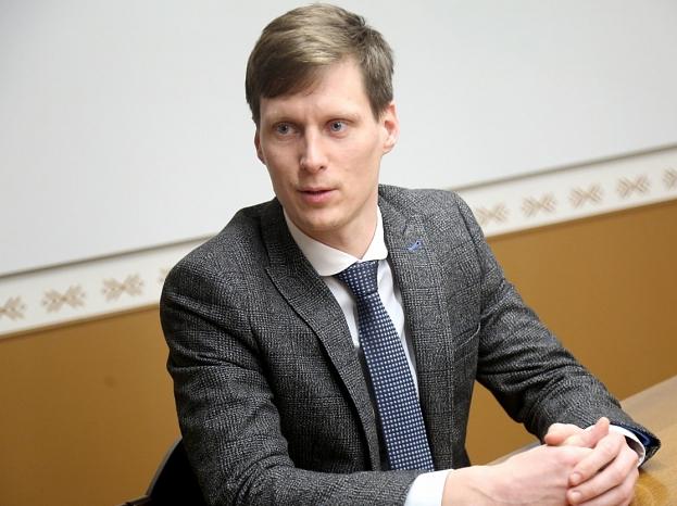 Ekonomikas ministrs Ralfs Nemiro.