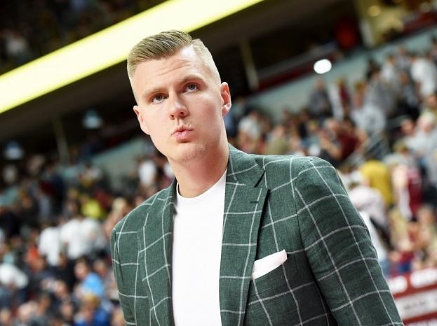 Basketbolists Kristaps Porziņģis.