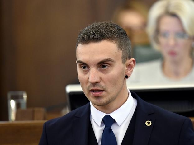 13.Saeimas deputāts Uldis Budriķis.
