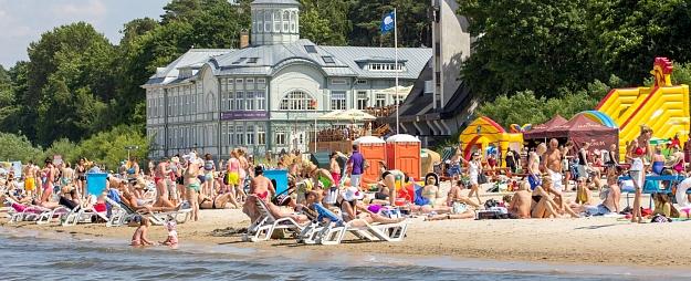 Vasarā tūristu skaits Jūrmalā pieaudzis par 17%