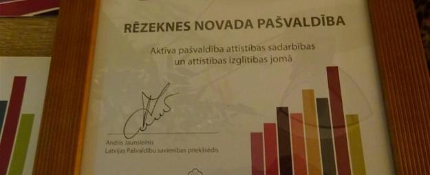 Rēzeknes novada pašvaldība gūst atzinību starptautiskās sadarbības jomā