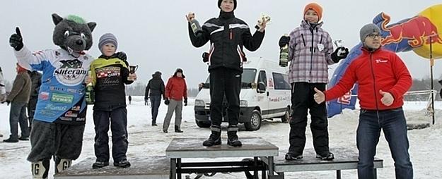 Motobraucējam Gaļcinam 3.vieta sacensībās Lēdmanē
