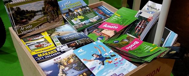 """""""Enter Gauja"""" prezentē akciju """"Sakrāj savu piedzīvojumu stāstu"""" Igaunijas lielākajā tūrisma izstādē """"Tourest"""""""