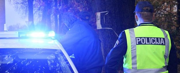 Policija Zemgales reģionā pieķērusi 51 ātruma pārkāpēju