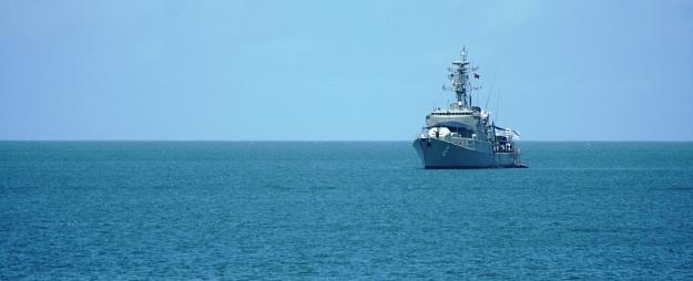 Arī šodien Latvijas tuvumā manīts Krievijas bruņoto spēku kuģis
