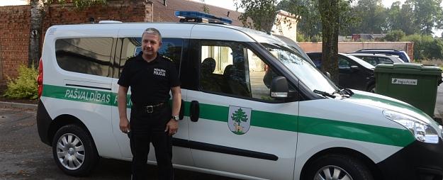 Jēkabpils pilsētas pašvaldības policijai jauna automašīna