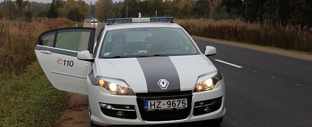 Par atļautā braukšanas ātruma pārsniegšanu Zemgales reģionā noformēti 39 pārkāpuma protokoli