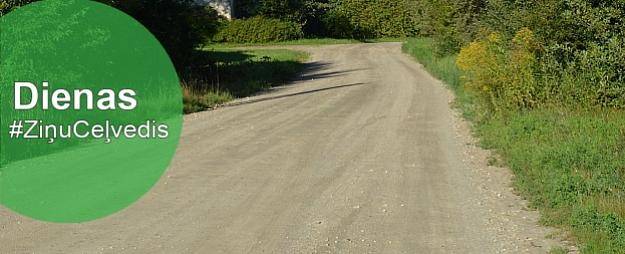 """Limbažos asfaltēs Zeļļu ielu,Meklē Līgatnes gada cilvēku,atvērs izstādi""""Šķiedras atkarīgie"""""""