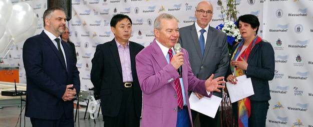 Lembergs: Ventspilī ienācis pirmais Ķīnas investors apstrādes rūpniecībā