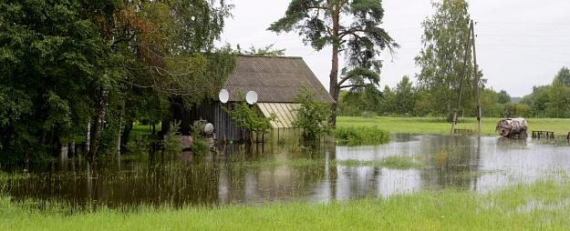 Lietus ūdeņu postījumus infrastruktūrai Zemgalē vērtē kā nebūtiskus